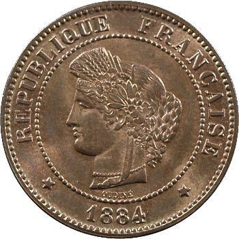 IIIe République, 5 centimes Cérès, 1884 Paris