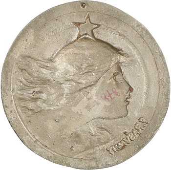Rasumny (F.) : L'étoile polaire (marine), galvano, s.d