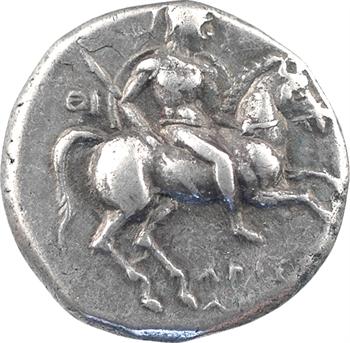 Calabre, Tarente, didrachme au nom d'Aristokl[ès], c.272-235 av. J.-C.