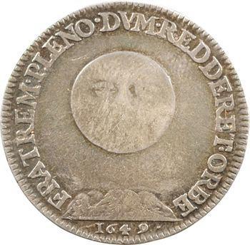 Dombes (principauté de), Gaston d'Orléans, 1649