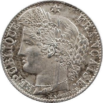 IIIe République, 50 centimes Cérès, 1874 Paris
