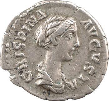 Crispine, denier, Rome, 180-183