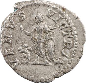 Plautille, denier, Rome, 202-205