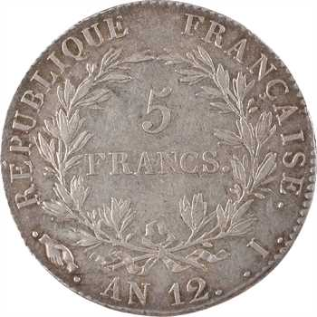 Consulat, 5 francs, An 12 Limoges