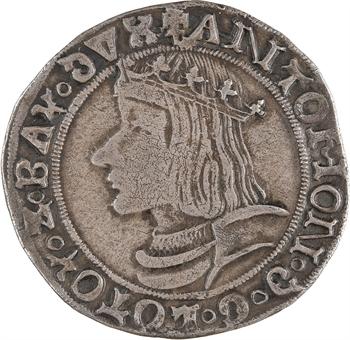 Lorraine (duché de), Antoine, teston, 1533 Nancy