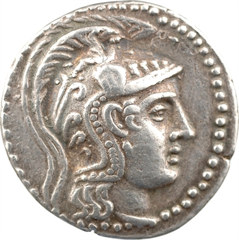 Attique, tétradrachme nouveau style, Athènes, c.144-143 av. J.-C.