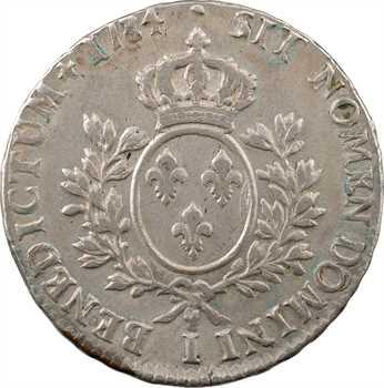 Louis XVI, écu aux rameaux d'olivier, 1784 Limoges