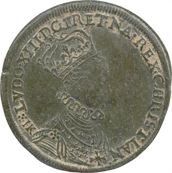 Louis XIII, sacre à Reims le 17 octobre 1610, par Hans Krawinckel, c.1610 Nuremberg