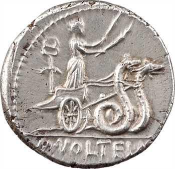 Volteia, denier, Rome, 78 av. J.-C.