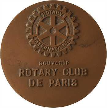 Ve République, souvenir du Rotary Club, par Jean Colin, 1980 Paris
