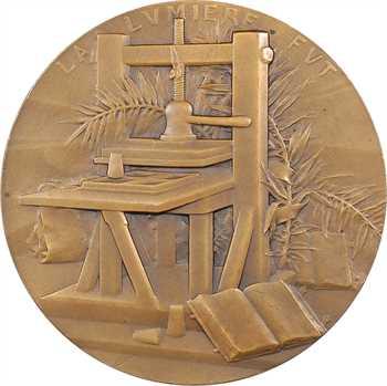 Deschamps (L.) : Johannes Gutenberg, s.d. Paris