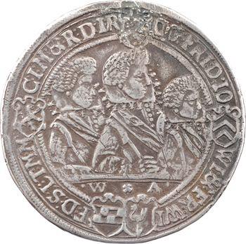 Allemagne, Saxe-Altenbourg (duché de), les 4 frères, thaler, 1623 Saalfeld