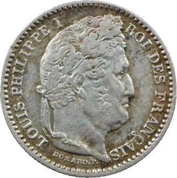 Louis-Philippe Ier, 25 centimes, 1847 Paris