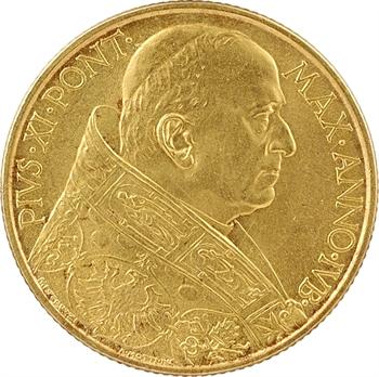 Vatican, Pie XI, 100 lire du jubilé, 1933-1934 Rome