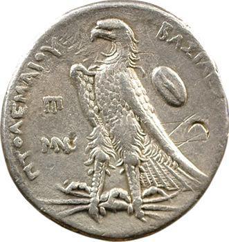 Égypte, Ptolémée II, tétradrachme, Alexandrie, 258-251 av. J.-C.