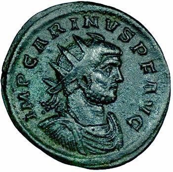 Carin, aurelianus, Ticinum, 283