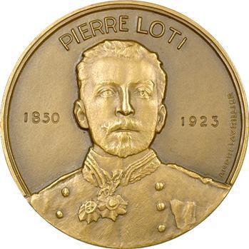 IVe République, médaille des Messageries maritimes, Pierre Loti, 1953