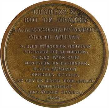 Charles X, expédition en Morée, par Pingret, 1828 Paris