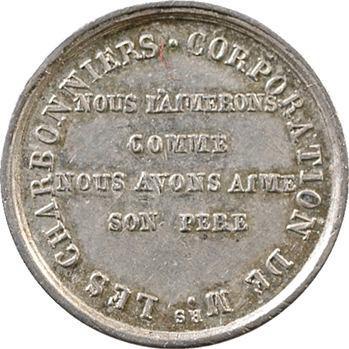 Henri V, corporations des charbonniers par Gayrard, s.d