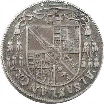 Alsace, Strasbourg (évêché de), Charles de Lorraine, teston ou tiers de thaler