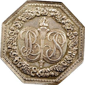 Premier Empire, jeton de mariage (?) par Tiolier, s.d