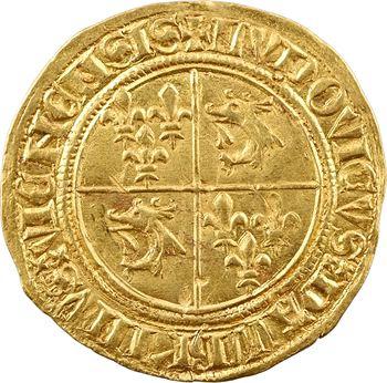 Dauphiné, Viennois (dauphins du), Louis II dauphin, écu d'or, 1re émission, s.d. (1440-1447) Montélimar