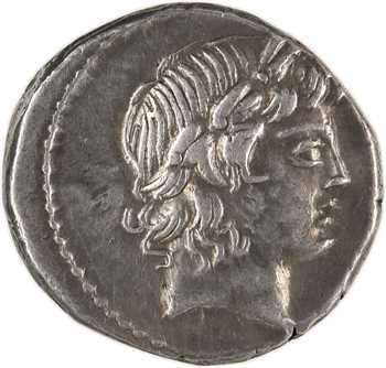 Marcia, denier, Rome, 82 av. J.-C