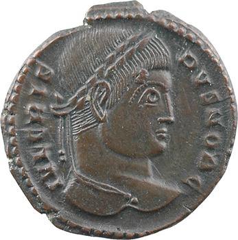 Crispus, nummus, Trèves, 2e officine, 323-324