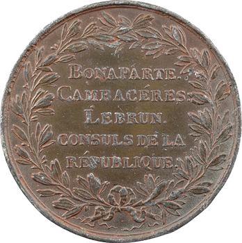 Consulat, construction du Pont de Dourdan, An 9 (1800) Paris