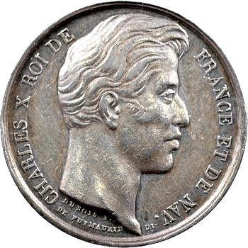 Charles X, Passage du Roi à Valenciennes, 1827