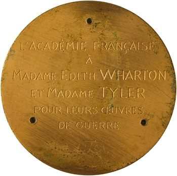 IIIe République, l'Académie Française à Edith Wharton (Richelieu), s.d. Paris