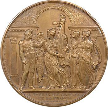 Louis-Philippe Ier, inauguration du musée de Versailles, par Depaulis, 1837 (refrappe) Paris