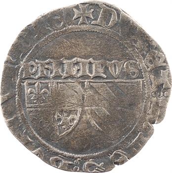Bourgogne (duché de), Philippe le Bon, grand blanc aux écus, Chaussin