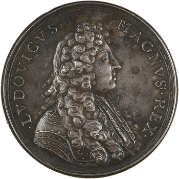 Louis XIV, Arc de Triomphe du faubourg Saint-Antoine commémorant la conquête de la Flandre et de la Franche-Comté, 1670 Paris