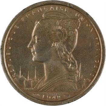 A.O.F. Union française, essai de 2 francs, 1948 Paris