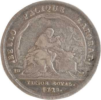 Louis XV, le trésor royal, 1728 Paris