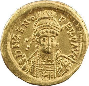Zénon, solidus, Constantinople, 10e officine, 476-491