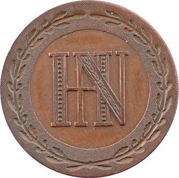 Allemagne, Westphalie (royaume de), Jérôme Napoléon, 2 centimes, 1808 Paris, variété poids lourd