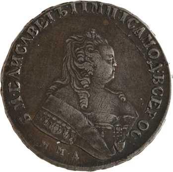 Russie, Élisabeth Ire, rouble, 1749 Moscou