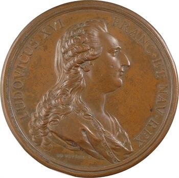 Louis XVI, renouvellement de l'alliance avec les Suisses, 1777 Paris