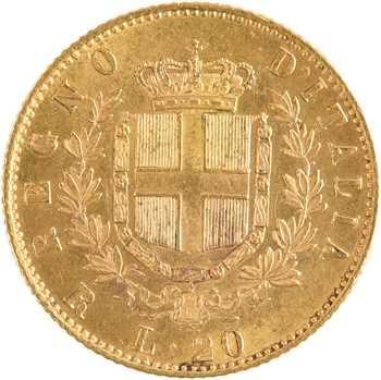 Italie (royaume d'), Victor-Emmanuel II, 20 lire, 1875 Rome