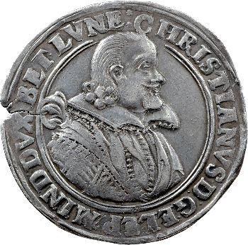 Allemagne, Brunswick-Lunebourg-Celle, Christian, thaler, 1624 Catlenbourg