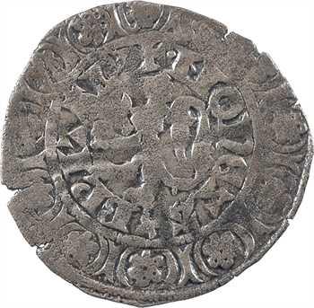 Bretagne (duché de), Charles de Blois, Gros au lion, s.d. (c.1355)