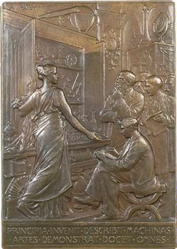 Patey (A.) : Conservatoire National des Arts et Métiers, 1898 Paris