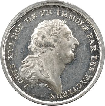 Mort de Louis XVI, par William Mainwaring, 1793 Angleterre