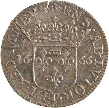 Italie, Ligurie, Tassaloro, Livie Centurioni, 5 sols, 1666