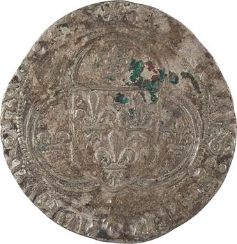 Charles VIII, blanc à la couronne de Bretagne, Rennes