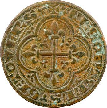 Moyen-Âge, jeton de compte, Clémence de Hongrie, s.d