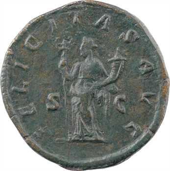 Julia Mamée, sesterce, Rome, 228