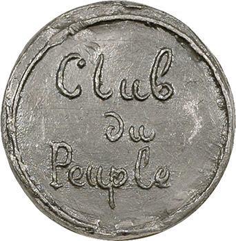 IIe République, Club du peuple, M. Millon, 1848 Paris